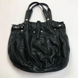 Lucky Brand Italian Leather Black Handbag